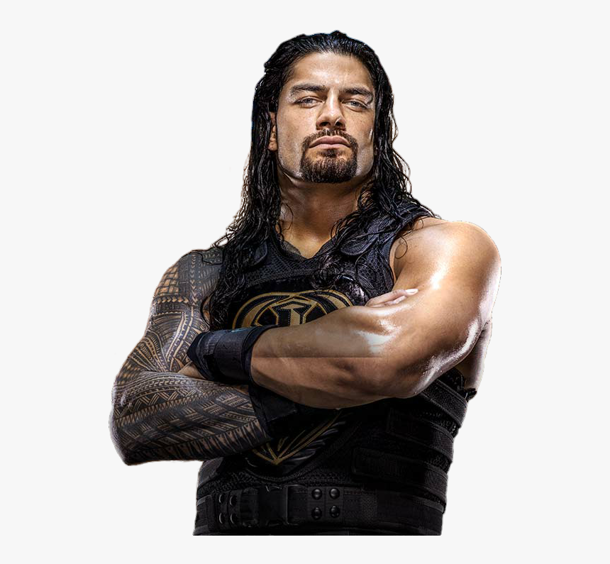 Roman Reigns Png Free Download - Wwe Roman Reigns Render 2017, Transparent Png, Free Download