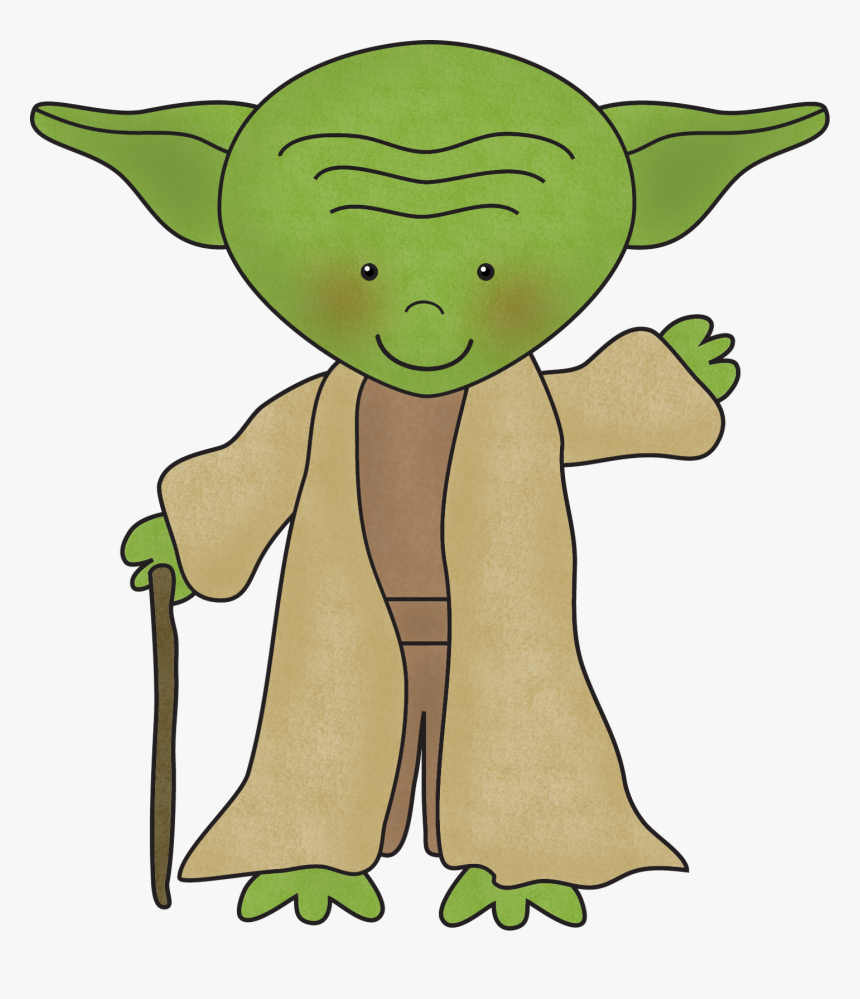 Transparent Yoda Clipart - Describe Clipart, HD Png Download, Free Download