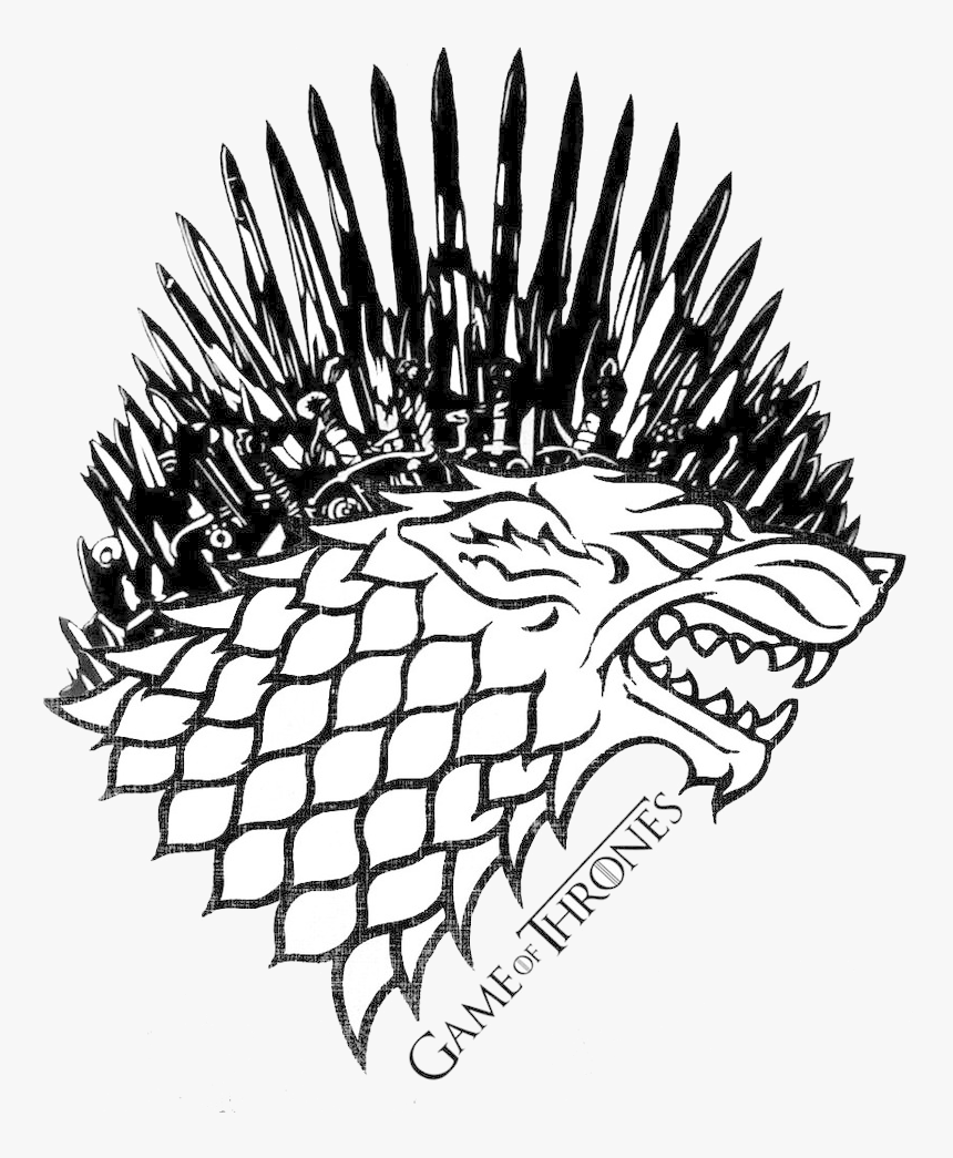 Game Of Thrones Stark Iron Throne Clip Art Library Game Of Thrones Stark Logo Hd Png Download Kindpng