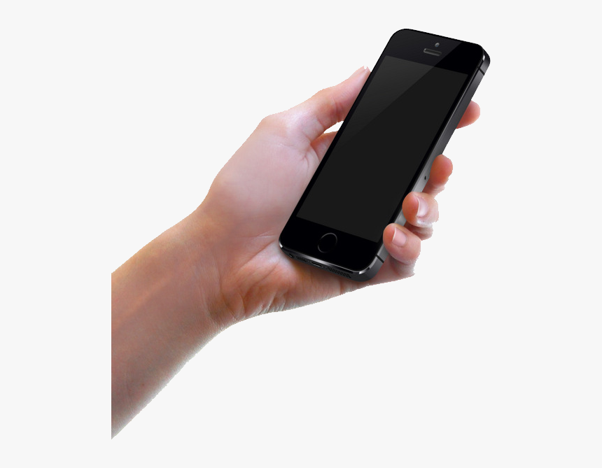 Phone In Hand - Hand Phone Whatsapp Png, Transparent Png, Free Download