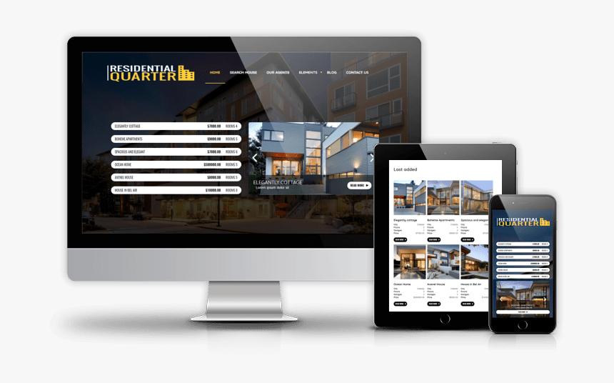 Drupal Residential Quarter 800 600 Min - Online Advertising, HD Png Download, Free Download