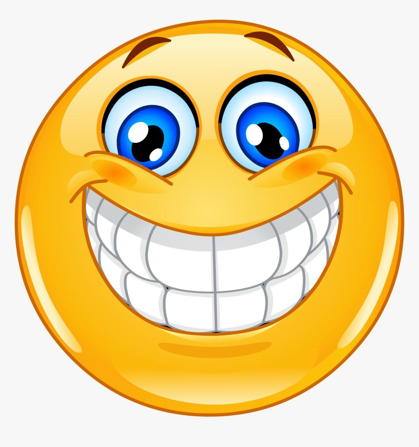 Transparent Smile Emoji Png - Big Smiley Face, Png Download, Free Download