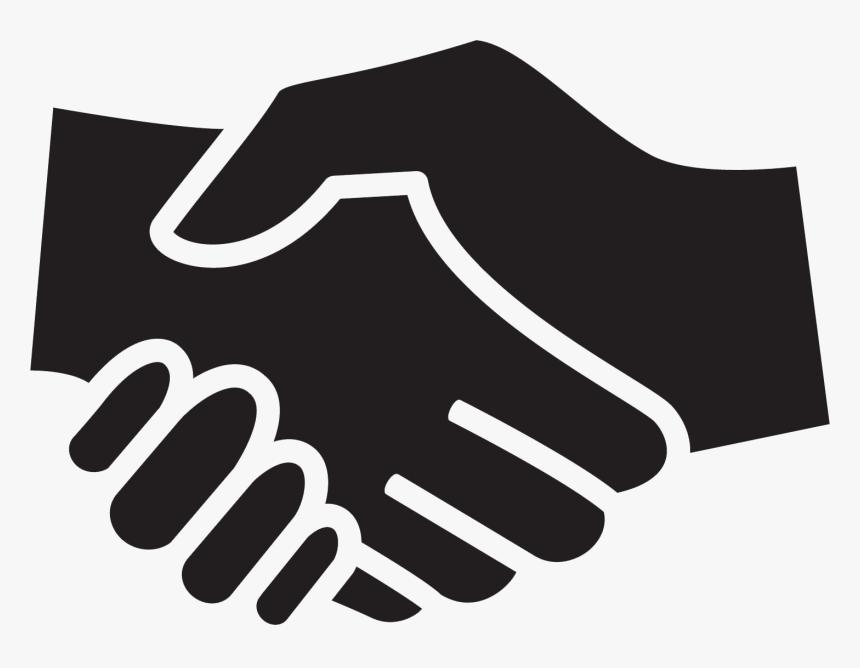 Handshake Icon - Transparent Png Shaking Hands, Png ...