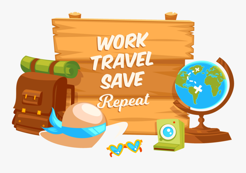 Traveling Clipart Vector Tour And Travel Png Transparent Png Kindpng