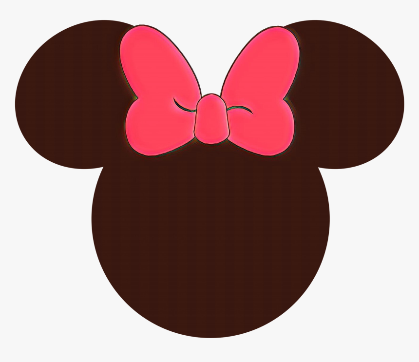 Mickey Mouse Universe Minnie Mouse Disney Castle - Silhouette Minnie Mouse Png, Transparent Png, Free Download