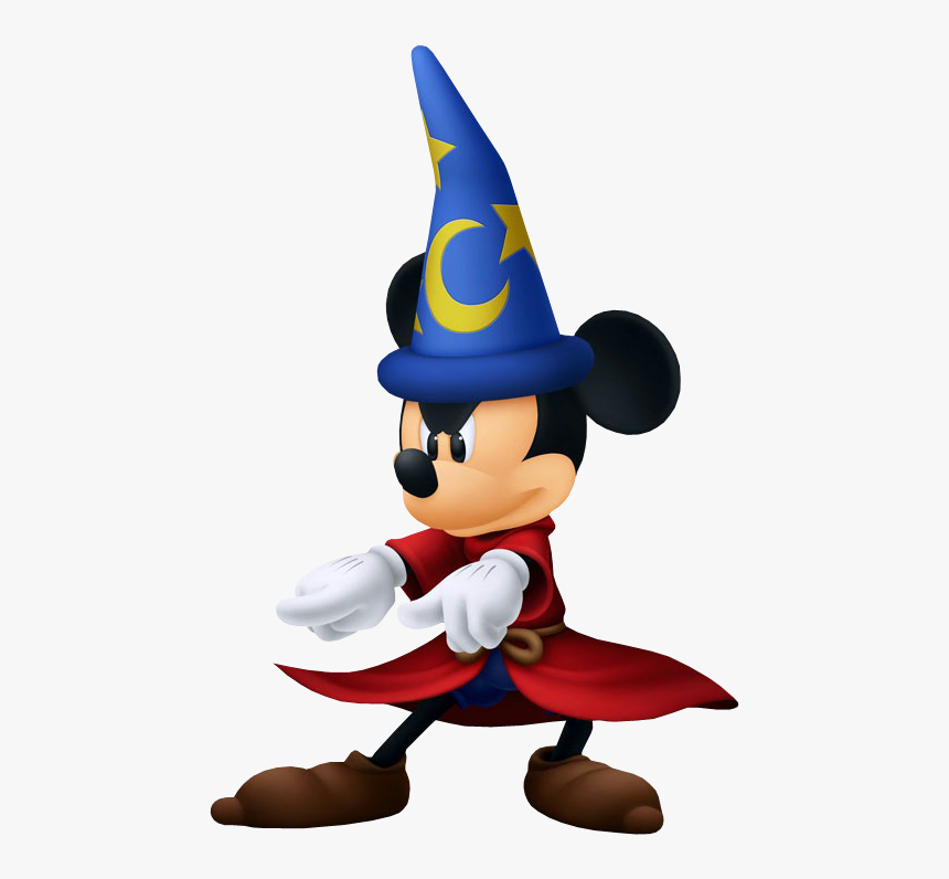 Sorcerer Mickey Png Picture - Disney Kingdom Hearts Mickey Mouse, Transparent Png, Free Download