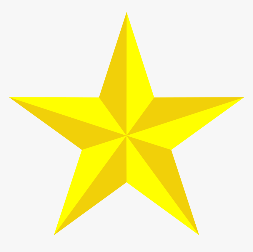Yellow Star Vector Png - Black Puerto Rico Flag Png, Transparent Png, Free Download
