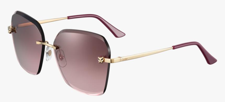 Cartier Panthere De Cartier Glasses, HD Png Download, Free Download