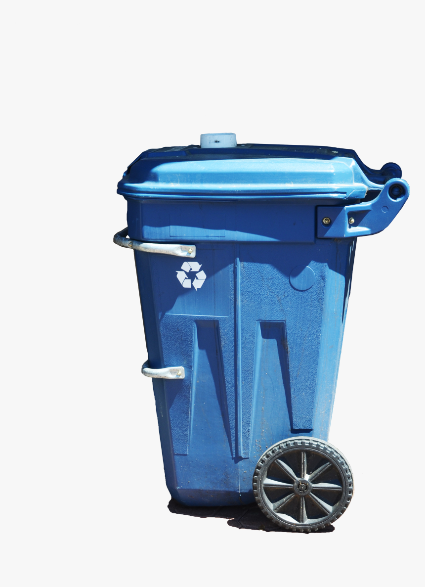 Garbage Bin Png - Garbage Can Side View, Transparent Png, Free Download