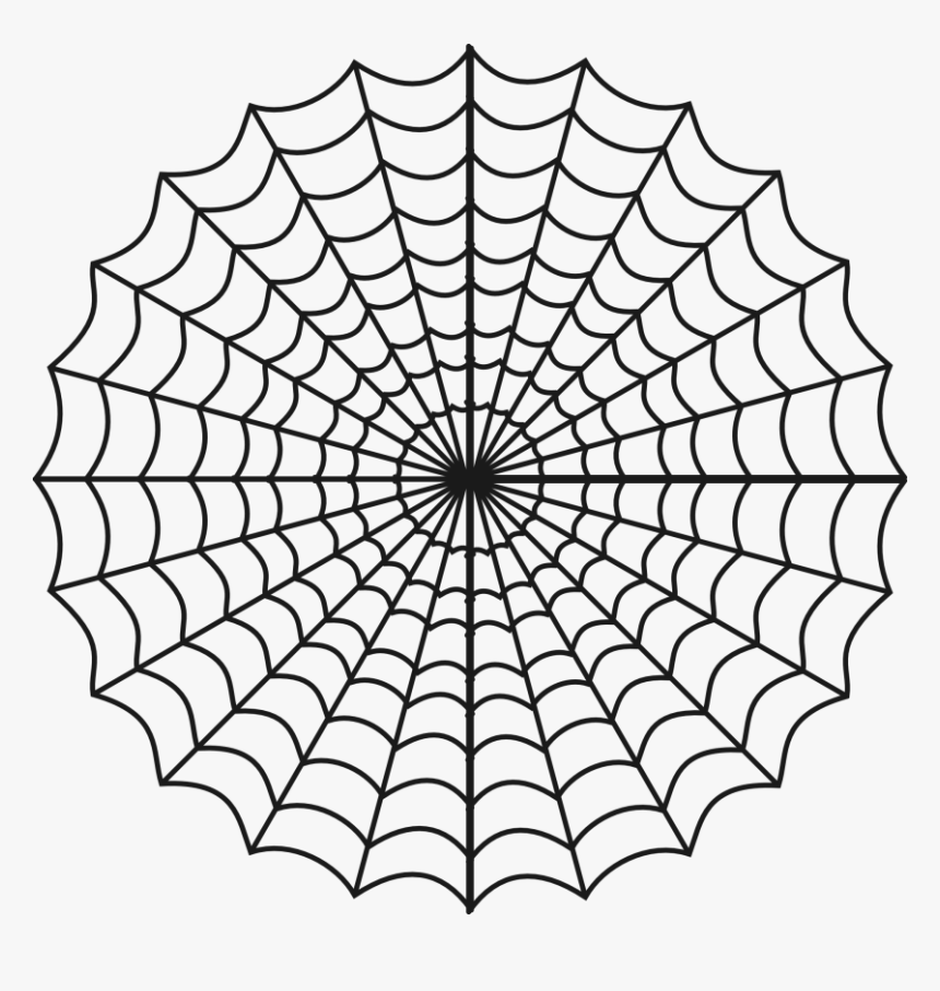 Spider Web Clipart Png Free Clipart Images - Charlottes Web Spider Webs, Transparent Png, Free Download