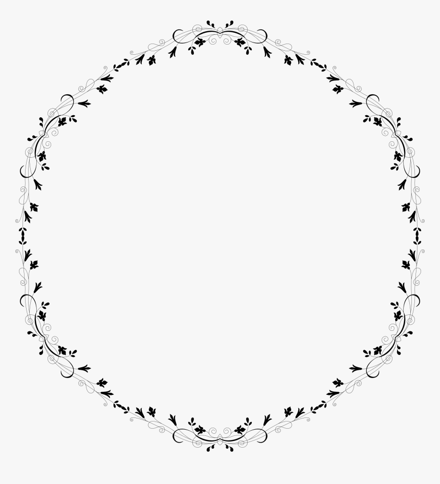 White Floral Border Png Photo - New Stock Coming Soon, Transparent Png, Free Download
