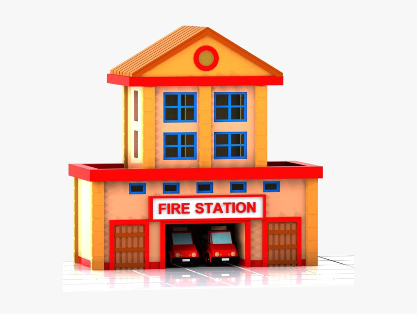 Fire Department Png - Fire Station Icon Png, Transparent Png, Free Download