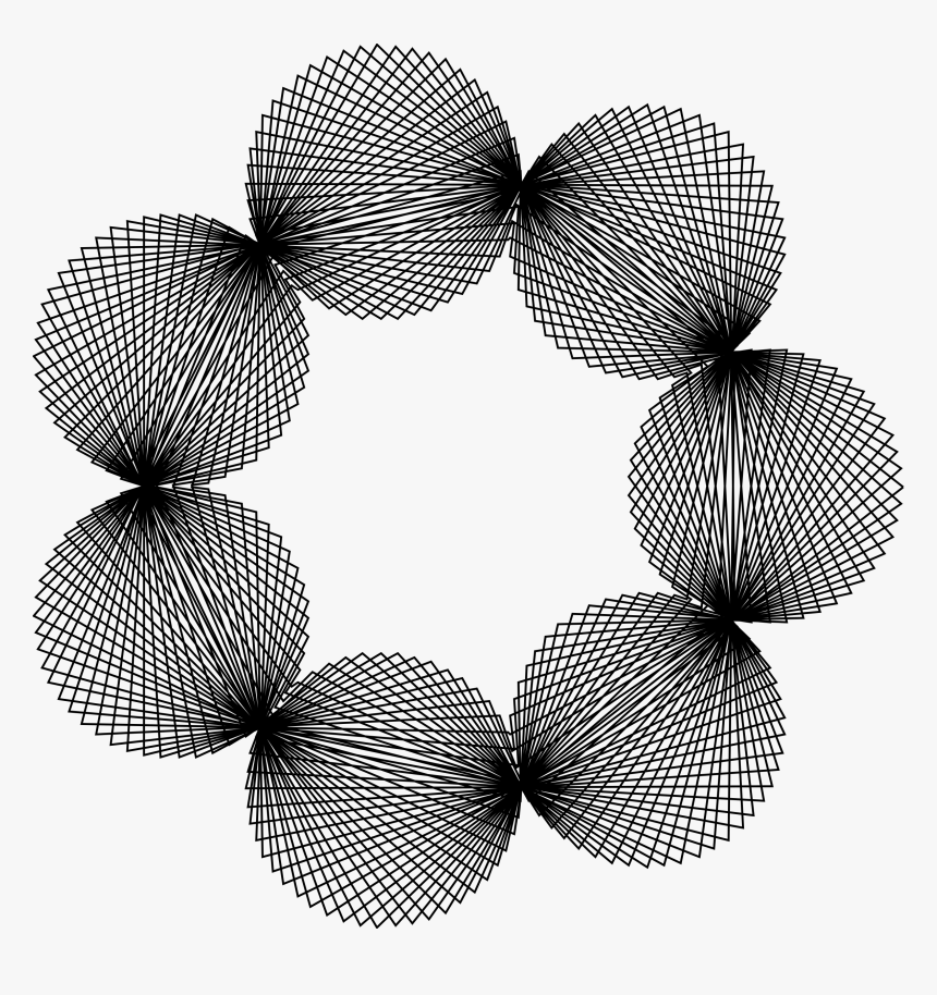 Pearls Clip Arts - Spirographe Png, Transparent Png, Free Download