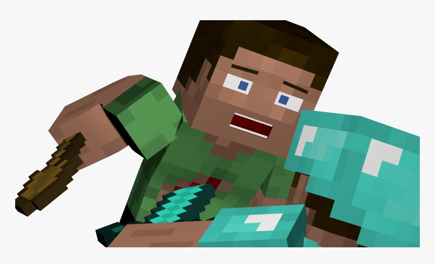 Transparent Minecraft Steve Png Garry S Mod Png Download Kindpng