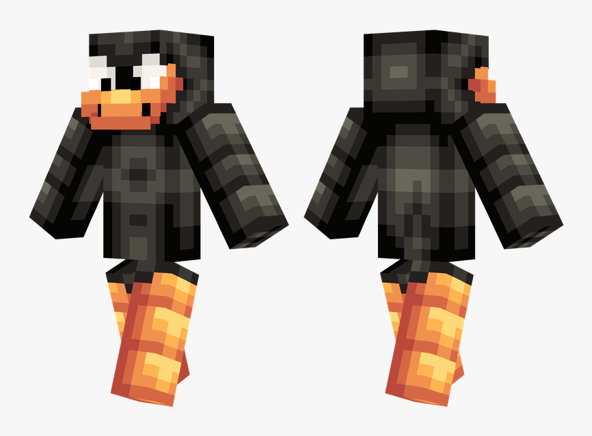 Boss Steve Minecraft Skin , Png Download - Blue Steve Minecraft Skin, Transparent Png, Free Download