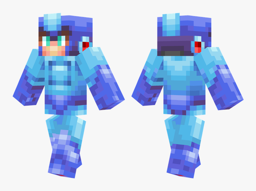 Minecraft Skins Gold Steve - Deep Sea Diver Skin Minecraft, HD Png Download, Free Download