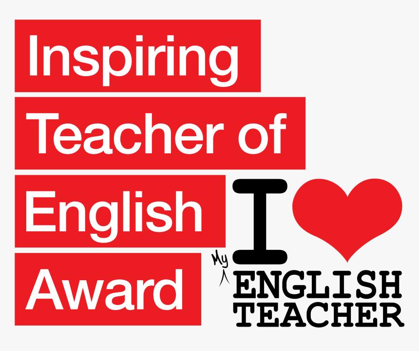 Inspiring Teacher Of English Award, HD Png Download, Free Download