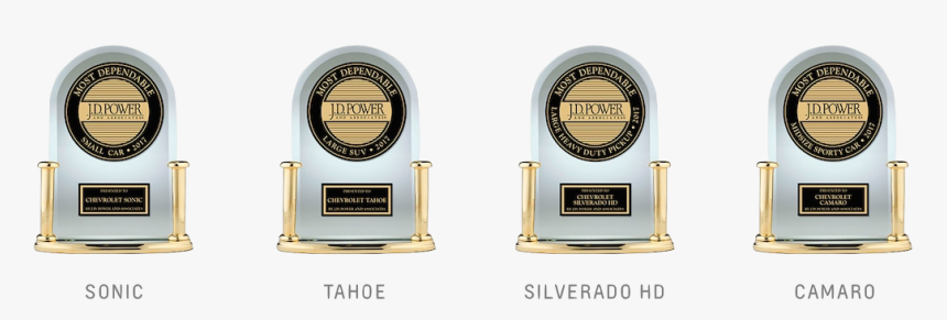 """Chevy""""s 2018 Jd Power Awards For The Sonic, Tahoe, - Jd Power Award Chevy, HD Png Download, Free Download"""