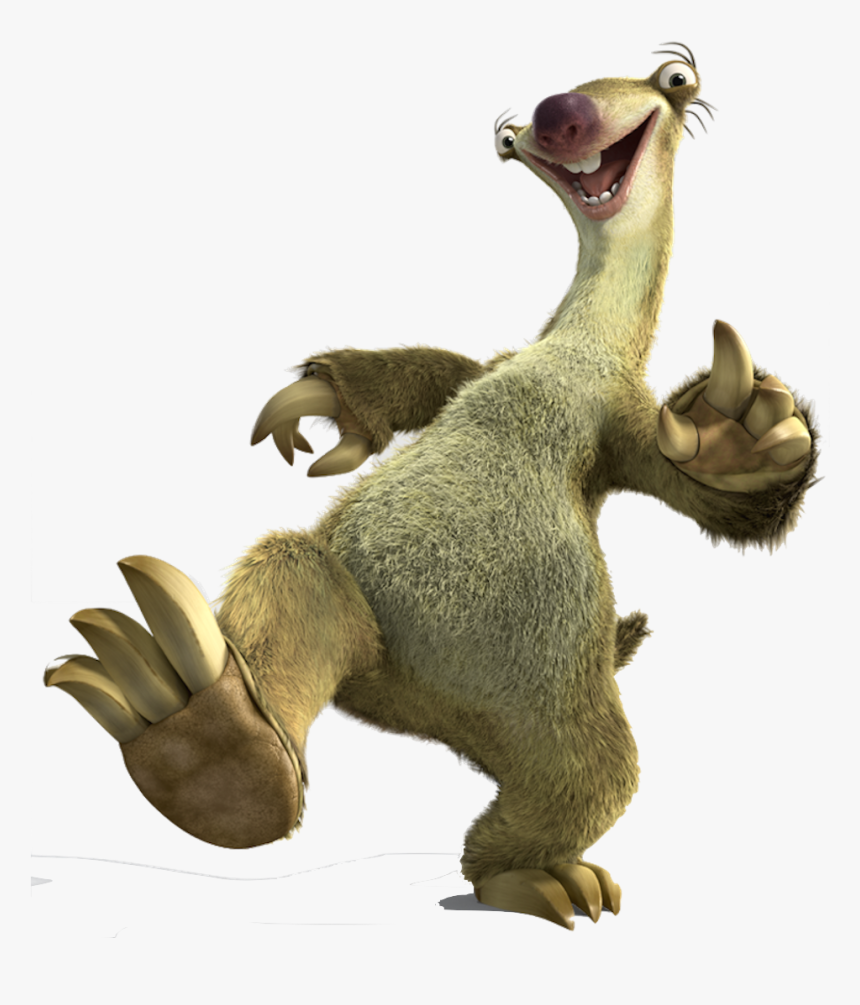 Sid The Sloth Png Banner Freeuse Stock - Sid Ice Age Png ...