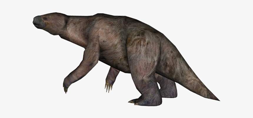 Sloth Png Transparent Images - Zoo Tycoon 2 Ground Sloth, Png Download, Free Download