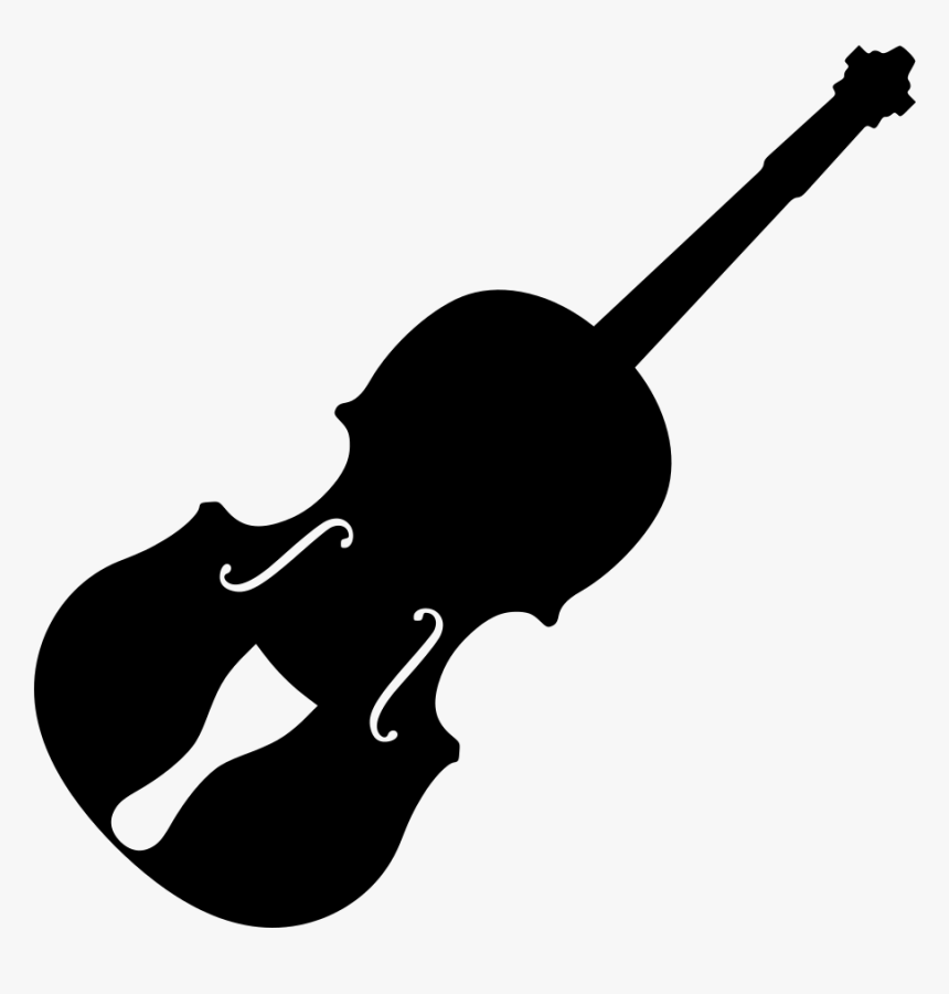 Silhouette Of A Violin, HD Png Download, Free Download