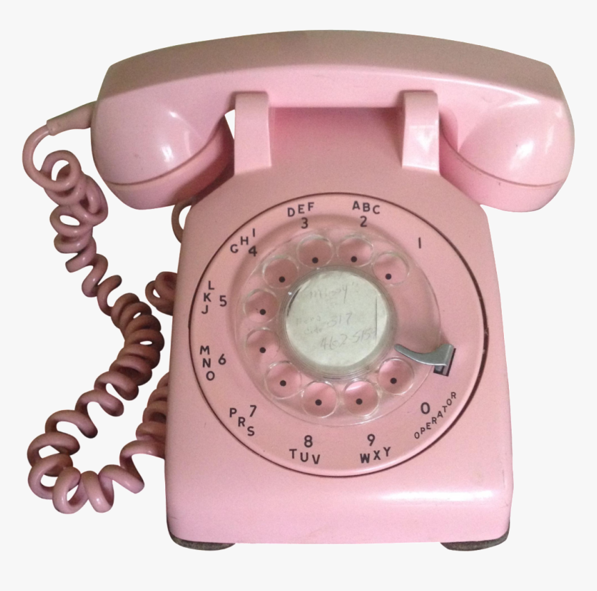 Clipart Telephone Rotary Dial Phone - Clipart Pink Telephone, Cliparts &  Cartoons - Jing.fm