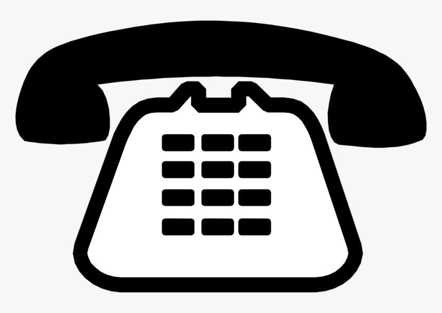 Thumb Image - Transparent Background Telephone Clipart, HD Png Download, Free Download