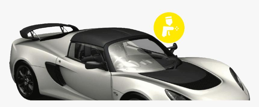 Lotus Body Repairs Car - Lotus Exige, HD Png Download, Free Download
