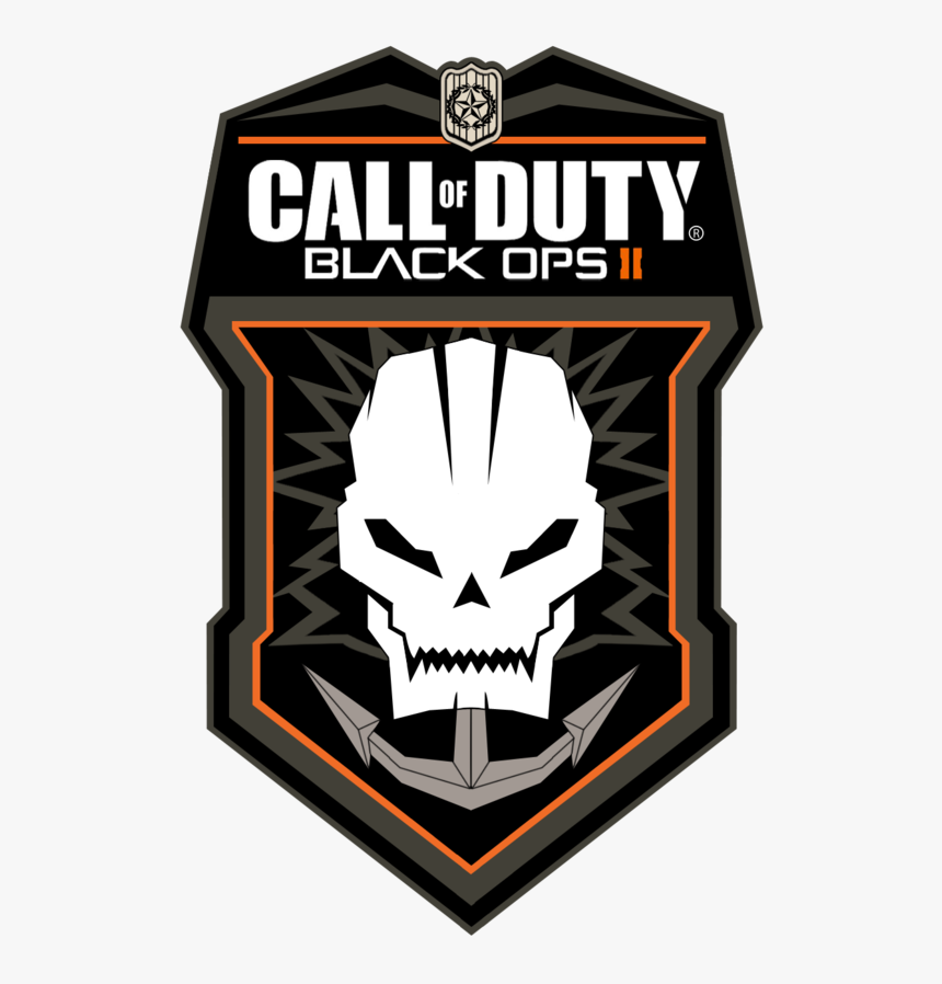 Call Of Duty Logo Png - Call Of Duty Black Ops 2 Hd, Transparent Png, Free Download