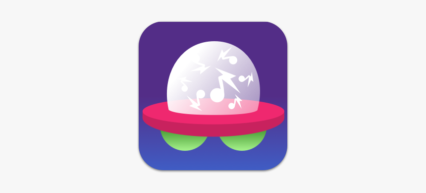 Icon For Music Marging App Kids Ufo Music Icon App - Illustration, HD Png Download, Free Download