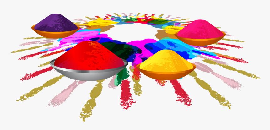 Holi Color Png , Png Download - Holi Color Sticker, Transparent Png, Free Download