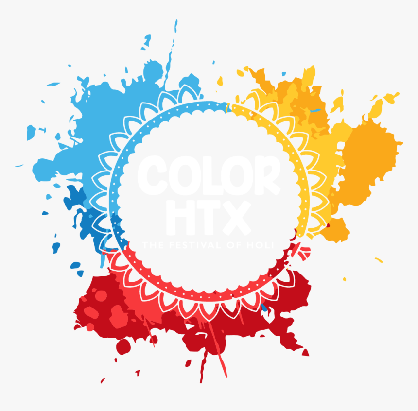 Color Htx Logo - Festival Of Colors Png, Transparent Png, Free Download