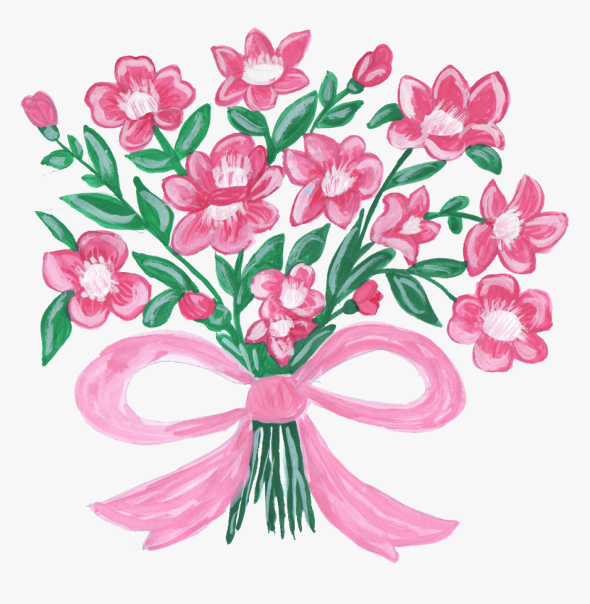 Transparent Flower Bouquet Clipart - Png Format Flower Png, Png Download, Free Download