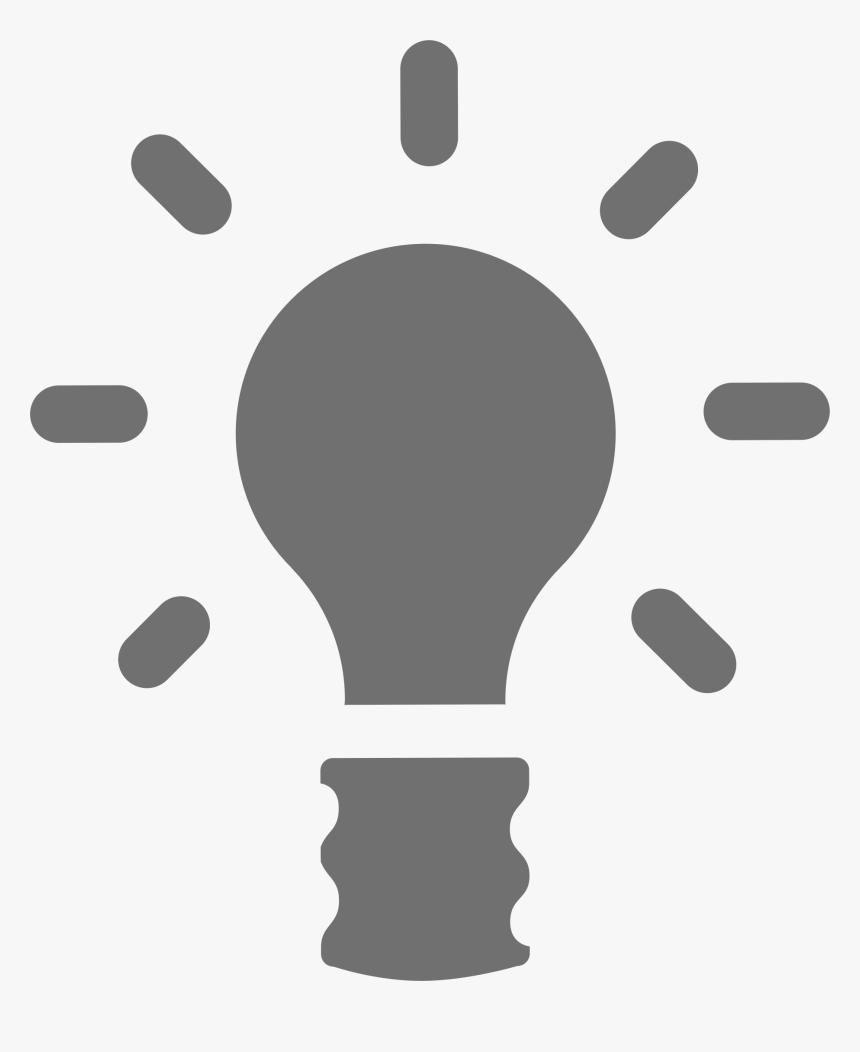 Ampoule Lamp Clip Arts - Grey Light Bulb Clipart, HD Png Download, Free Download