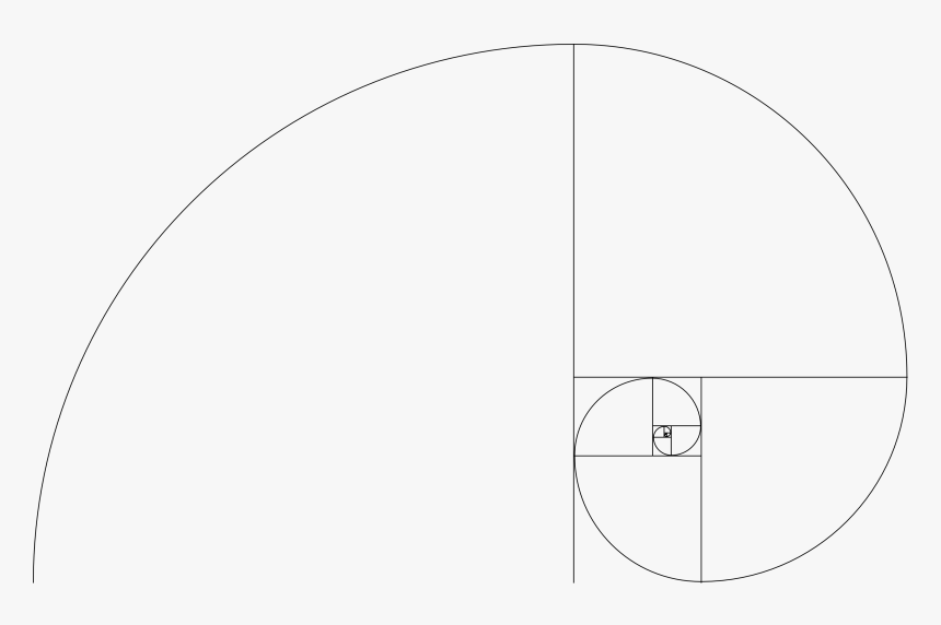 Golden Ratio Template - Circle, HD Png Download, Free Download
