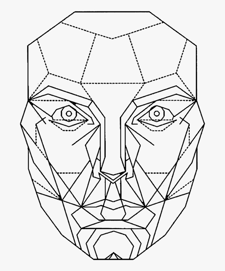 Golden Ratio Face Mathematics Decagon - Golden Ratio Face Png, Transparent Png, Free Download