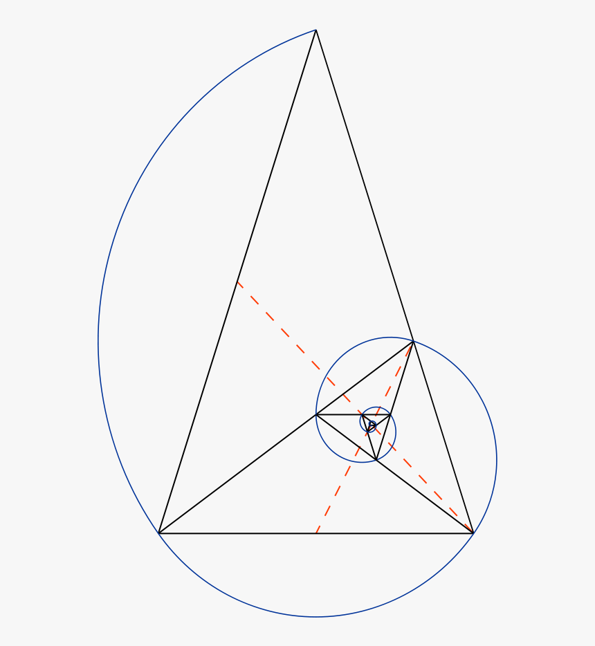 Golden Ratio Triangle Vector, HD Png Download, Free Download