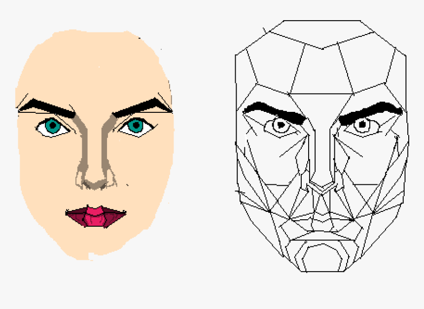 Golden Ratio For Faces No Background, HD Png Download, Free Download