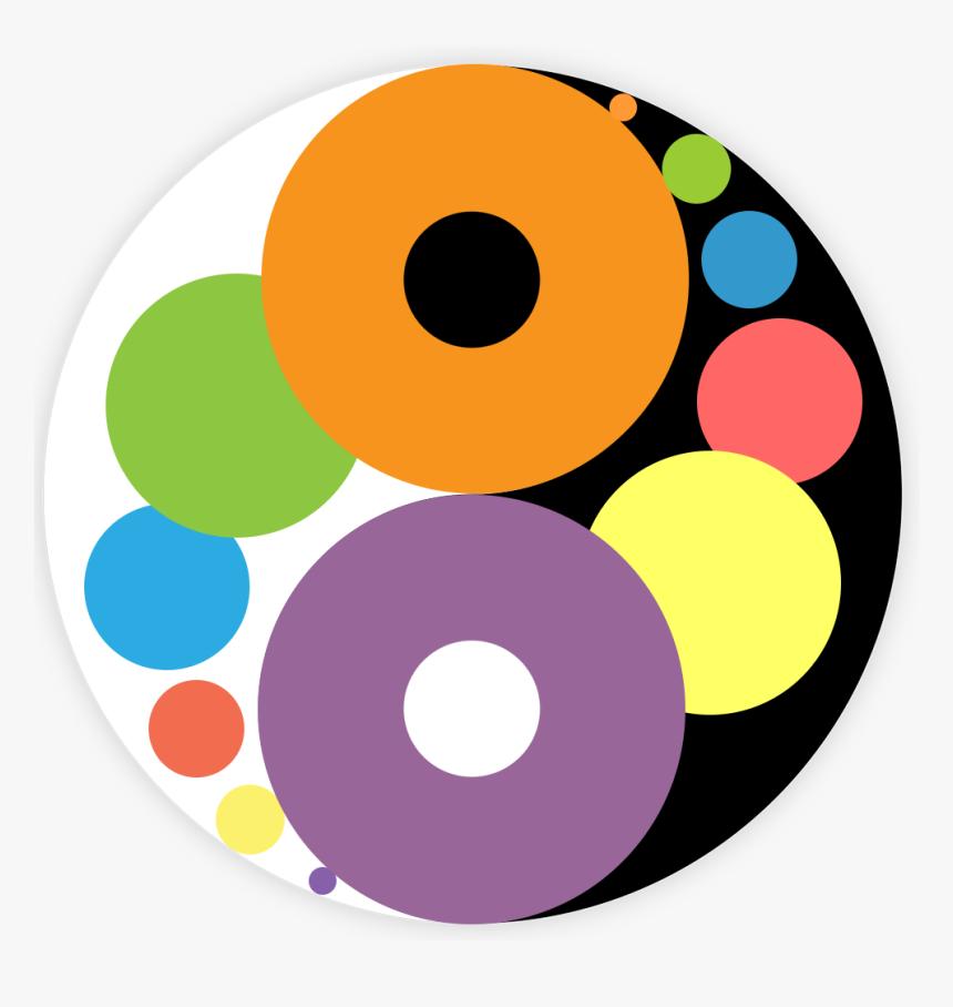Yin Yang - Golden - Yin Yang Golden Ratio, HD Png Download, Free Download