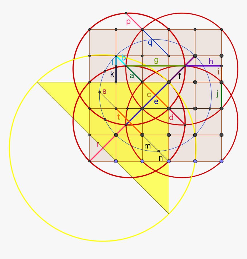 Elliot Mcgucken Golden Ratio Constructions - Golden Ratio, HD Png Download, Free Download