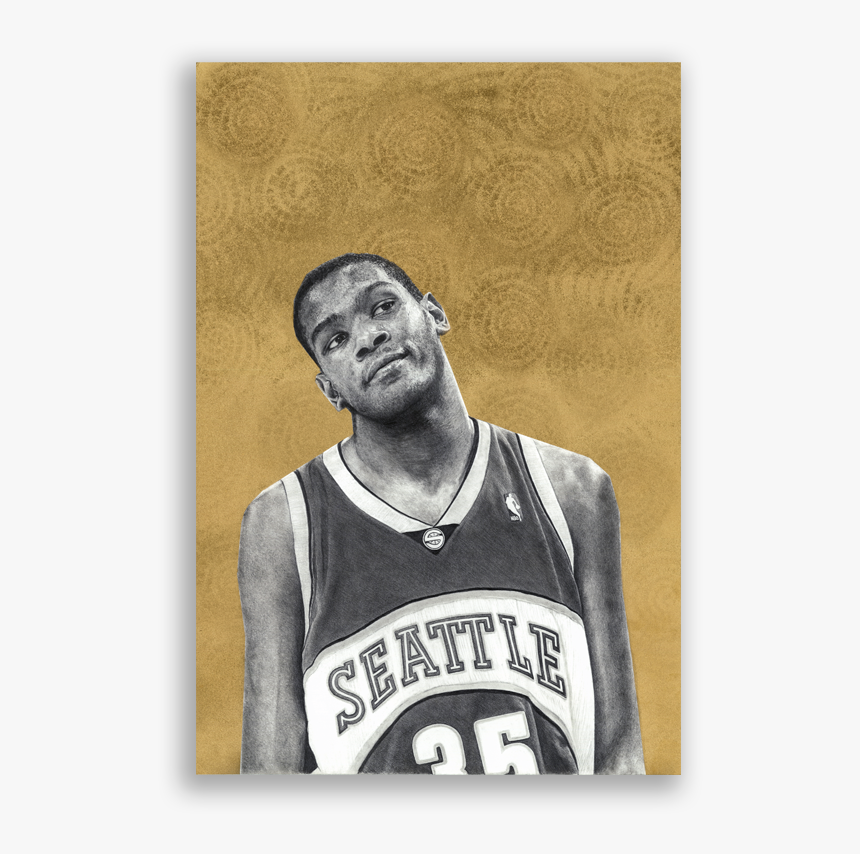Kevin Durant Sonics, HD Png Download, Free Download