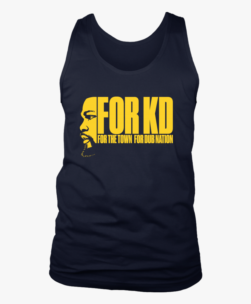 For The Town Dub Nation Shirt Kevin Durant - Active Tank, HD Png Download, Free Download