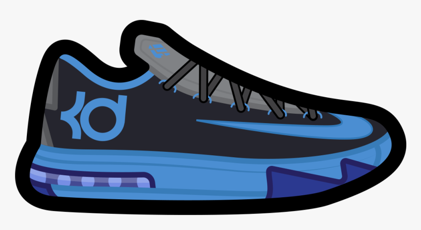Kevin Durant Shoes Cartoon, HD Png Download, Free Download