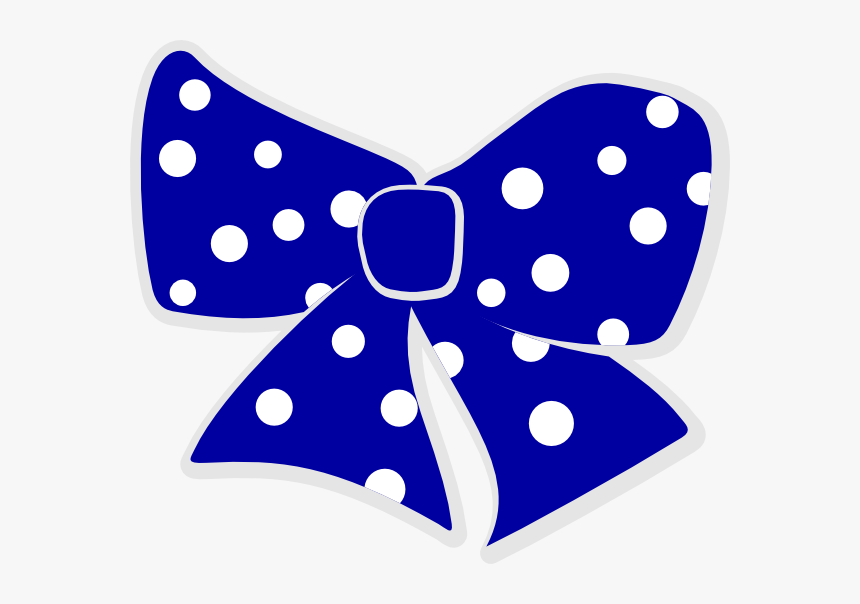 Polka Dot Bow Clipart, HD Png Download, Free Download