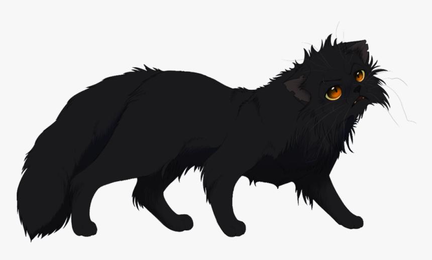 Black-cat - Black Anime Cat Transparent, HD Png Download, Free Download