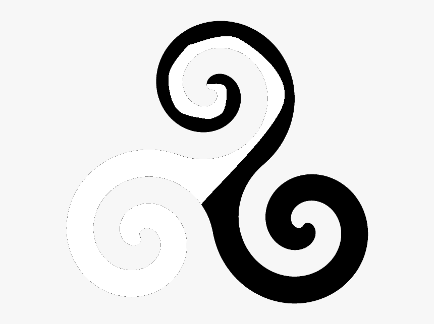 Triskelion Png - Spiral - Illustration, Transparent Png, Free Download