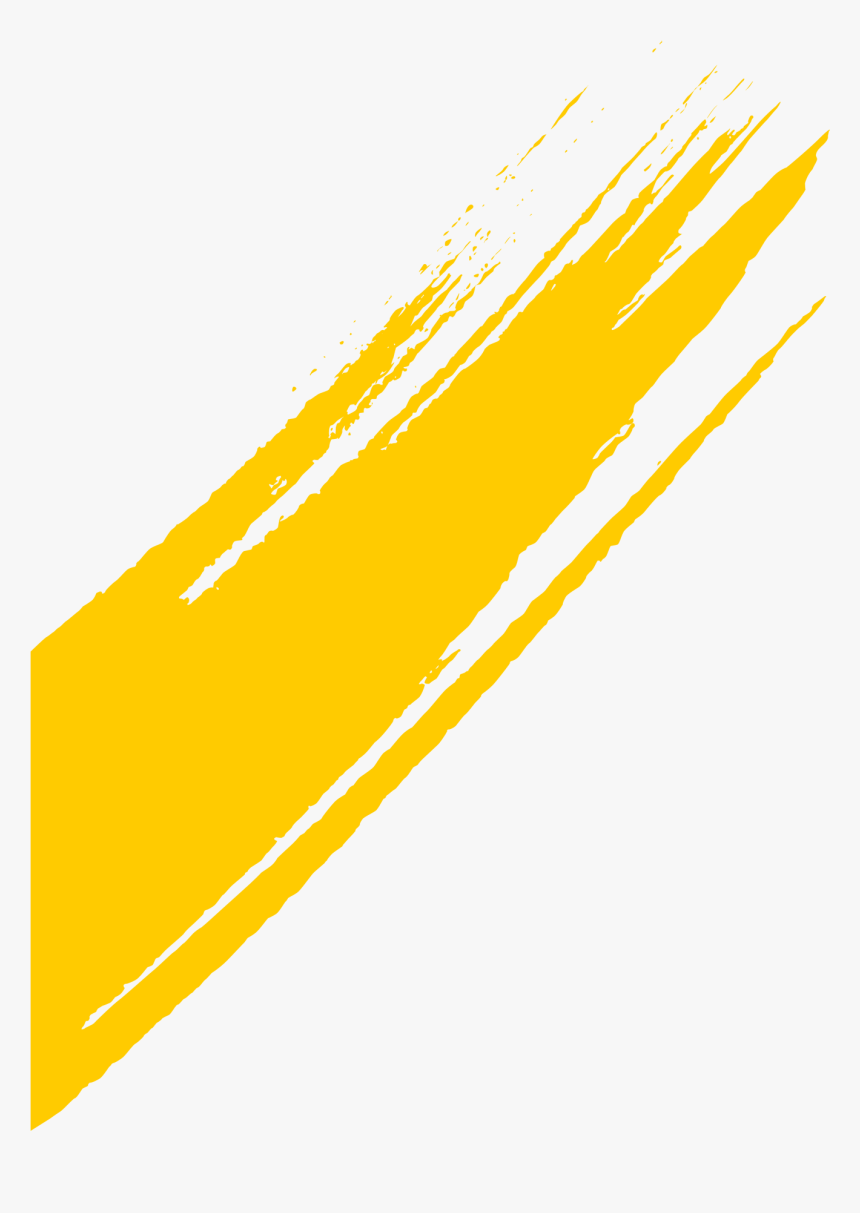 Arc Brush3 Yellow Png - Orange, Transparent Png, Free Download