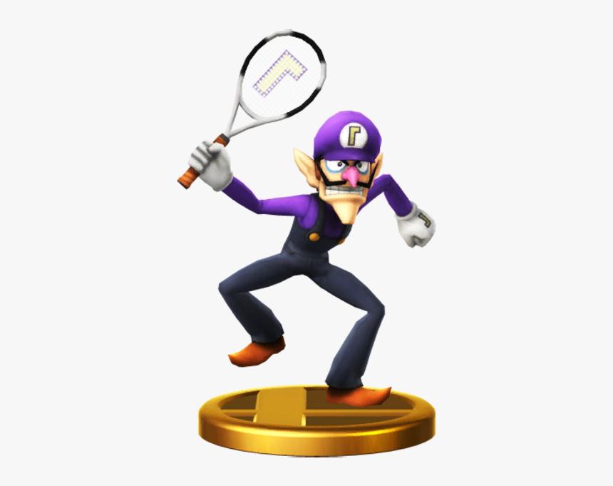 Super Smash Bros - Waluigi Amiibo Smash Bros, HD Png Download, Free Download