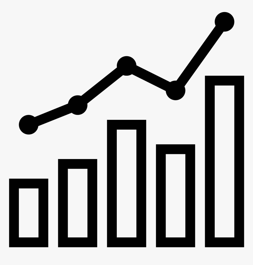 Transparent Line Graph Clipart Chart Icon Png Png Download