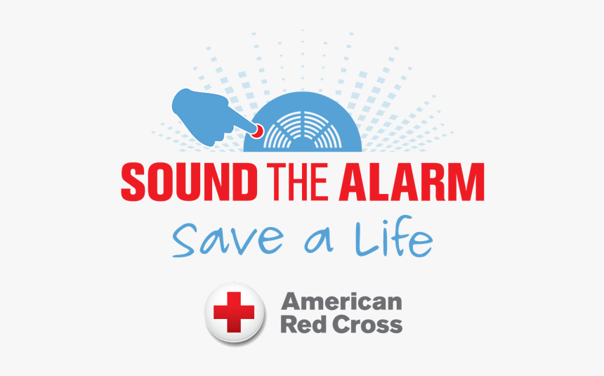 American Red Cross Sound The Alarm, HD Png Download, Free Download